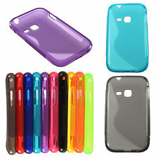 Style Soft TPU Gel Cover Case For Samsung S6802 Galaxy Ace Duos Skins ^^