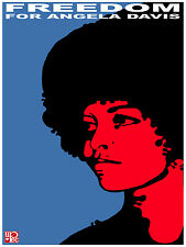 644.Angela Davis Wall History POSTER.Political Black Panther art.Civil Rights.