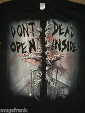 The Walking Dead Tv Show Don't Open Dead Inside Zombie T-Shirt