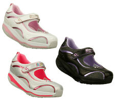SKECHERS SHAPE UPS XF GIRLS/KIDS SHOES/SNEAKERS/RUNNERS ADJUSTABLE STRAPS