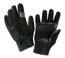 RAPPELLING GLOVES FAST ROPE RESCUE SWAT TACTICAL BLACK LEATHER ROTHCO 3482