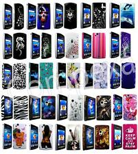 DESIGNER HARD CASE COVER SKiN WALET POUCH HOLSTER FOR SONY XPERiA VARiOUS MODELS
