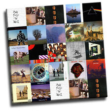 Pink Floyd - Montage Of Album Covers Giclee Canvas Album Cover Art