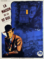 2685. La Maison de la 92 Rue Movie Art Decoration POSTER. Home Graphic Design.