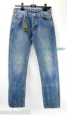 A|X ARMANI EXCHANGE J66 Distressed JEANS STRAIGHT LOW RISE 100% Cotton Authentic
