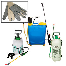 5L 8L 16L 20L GARDEN KNAPSACK WEEDKILLER CHEMICAL PRESSURE SPRAYER + SPARE PARTS
