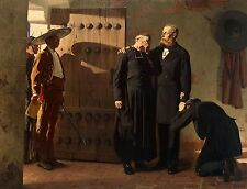 A4+ size print Laurens Jean Paul Emperor Maximilian Mexico Before Execution #jwn