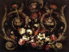 Photo Print Grotesques with Flowers Corte, Gabriel De La - in various sizes jwg-