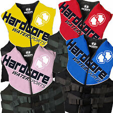 Hardcore Life Jacket Ski Vest PFD Adult Child Youth Kids Boys Girls Boating SAFE