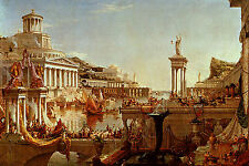 Art Photo Print - Course Of Empire Consummation Of Empire - Thomas Cole 1801 184