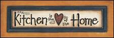 Art Print, Framed or Plaque by Tonya Crawford - Heart of the Home - TLC238