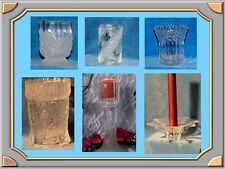 Colonial  and Biedermann Glass Candle & Votive Holders