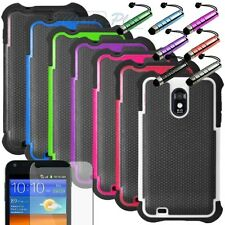 Rugged Dual Layer Hybrid Hard Case Cover for Samsung Galaxy S2 R760 US CELLULAR