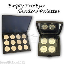 Empty Eye shadow Pans with Palette Perfect For MAC PRO PAN refills! *Choose Size