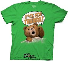 Ted Movie F*ck You Thunder Green Exclusive Licensed Adult Shirt S-3XL