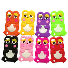 For iPod Touch 5 5G Gen 1pc Soft 3D Frog Gel Silicone Rubber Case SKin Cover