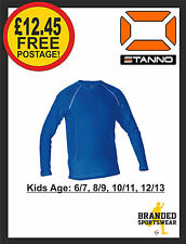 Stanno Thermal Base Layer Long Sleeved ROYAL BLUE Kids Age 6 7 8 9 10 11 12 13