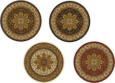 "TRADITIONAL ROUND 5X5 ORIENTAL AREA RUG PERSIAN CARPET - ACTUAL 5' 2"" x 5' 2"""