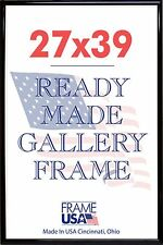 27x39 Deluxe Poster Frame Pack of 6 Frames - Black, Silver or Gold