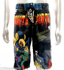 "z10 Minute Mirth Shorts Sz 32"" 34"" 36"" 38"" Skateboard Street Tiger Skull Trunks"