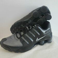 NIKE SHOX NZ SI PLUS BLACK AND GRAY SIZE 5.5Y & 6Y AVAILABLE-NEW