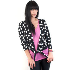 IRON FIST POLKA DOT 3/4 SLEEVES WOMEN SWEATER ALL US SIZES