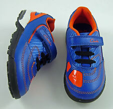 New Clarks First Walking Boys Leather Trainers with Lights Various Sizes Shoes