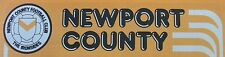 Newport County Home Programmes *Choose Opponents*
