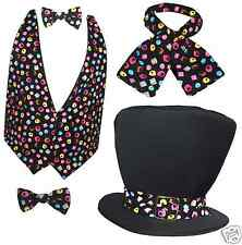 Traditional Mad Hatter Liquorice Allsorts Sweets Fancy Dress Accessories