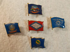 Flags Lapel & Hat Pins or Tie Tacs #2