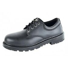 Grafters Contractor Safety Mens 4 Eye Steel Toe Cap Leather Work Shoes UK6-16