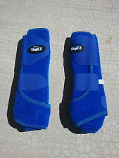 Tough 1 Extreme Vented Sport Protection FRONT ROYAL BLUE SMB Boots - ALL SIZES