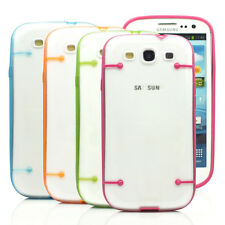Luminous Ultra-thin Clear Transparent Cover Case for Samsung Galaxy S3 III i9300