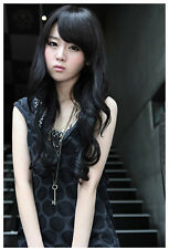 Fashion Party Wave Long Curly Wig Full Hair Cosplay Costume Wigs