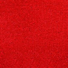 Exton Red Quality Twist Carpet 4m Wide Lounge Bedroom Stairs Cheap Any Size