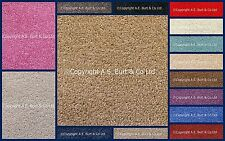 23 Colours Quality Feltback Twist Cheap Carpet Any Size 4m Lounge Bedroom Stairs