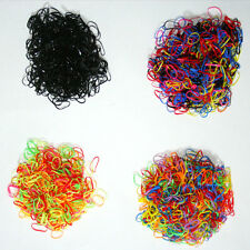500pcs Ponytail Elastic Hair Rubber hair band wholesale girl baby dog doll