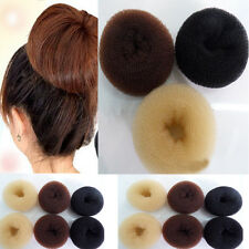 USA Hair Volumizing Scrunchie Donut Ring Style Bun Scrunchy Sock Poof 3 Colors S