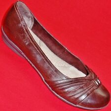 NEW Women's SONOMA BRIANA Brown Slip On Flats Fashion Loafers Casual/Dress Shoes