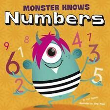 NEW Monster Knows Numbers by Lori Capote Library Binding Book (English)