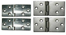 Plain Steel Drop Leaf Table Hinges, Sold in Pairs, 2 Sizes
