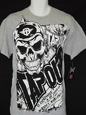 Tapout Tee Shirt Mens Sizes New Gray Tags Boxing MMA Wrestling Exercise Workout