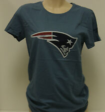 NEW Womens REEBOK New England PATRIOTS Vintage Blue Haze T-Shirt NFL Apparel