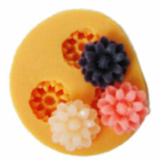 Reuseable flower silicone mold mould resin jewelry making crafts hairpieces