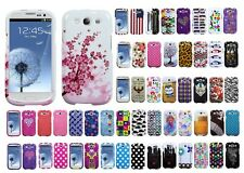 Two Piece Hard Snap on Design Protective Cover Case for Samsung Galaxy S III