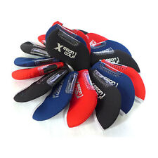 10pcs Neoprene BASIC golf IRON Culb Cover Protection Case Set Covers 3 colors