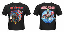 IRON MAIDEN European Tour 2013 T-shirt Sizes S to XXL NEW OFFICIAL The Trooper