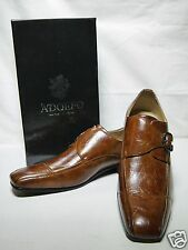 New Adolfo Men's Benz-1 Dress Shoes Brown Color Size Selections Available