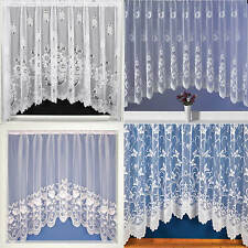 Net Curtains Jardinieres, Lace Curtain Panel, Ready To Hang