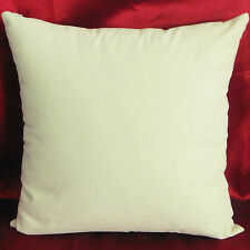 Cream Suede Like Velvet Cushion Cover Case Made to Order #u17-cc-tp-24